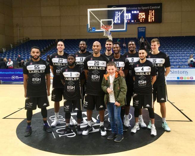 newcastle Eagles Plankton Tenenbaum Team Shot
