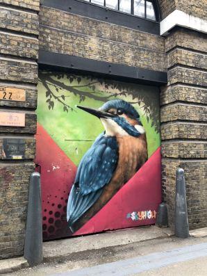 Street Art in Shoreditch: The Shoreditch Swallow