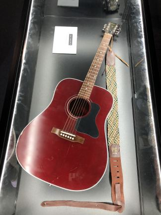 Comedy Central UK's Friends Fest 2018: Phoebe's actual guitar from the TV show Friends