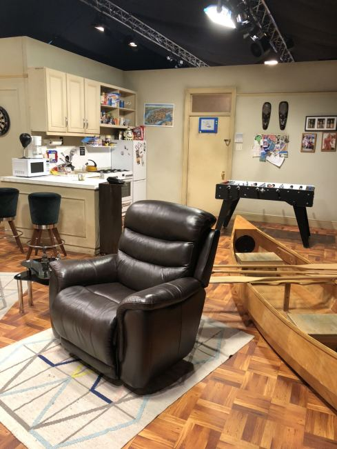 Comedy Central UK's Friends Fest 2018: On the set of Joey & Chandler's apartment with a view of the famous La-z-boy chairs