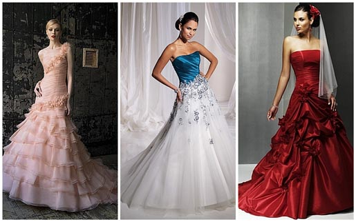 Would You Wear A Wedding Dress With Color?