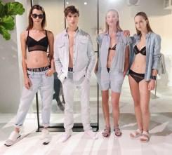 Calvin Klein white label Presents Spring 2015 Men's and Women's Lines, NYCCalvin Klein white label Presents Spring 2015 Men's and Women's Lines, NYC