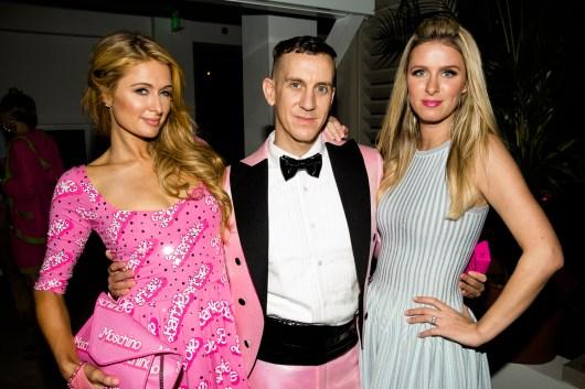 Paris Hilton, Jeremy Scott, Nicky Hilton