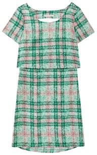 Plaid Print Alana Dress