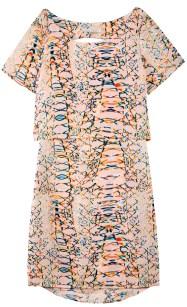 Sunrise Print Alana Dress