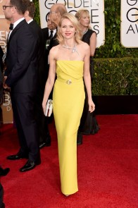 Naomi Watts in Gucci and Bulgari jewels
