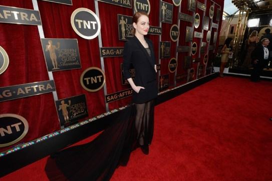 Emma Stone in Dior Haute Couture