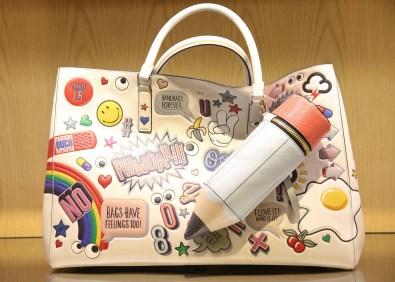 An Anya Hindmarch bag