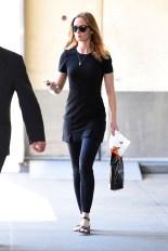 Emily Blunt wore Giorgio Armani Ombres et Lumieres sunglasses