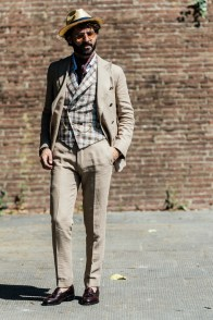 An exclusive look at some of the best street style at PITTI UOMO brought to you by PROJECT and Naskademini