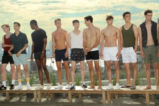 "New York, NY - 7/13/15 - Garrett Neff Launches Swimwear Line ""KATAMA"" during Men's Fashion Week. - Filename: AUR_2015_001884.JPG -Location: The Jimmy at the James Hotel Startraks Photo New York, NY For licensing please call 212-414-9464 or email sales@startraksphoto.com Startraks Photo reserves the right to pursue unauthorized users of this image. If you violate our intellectual property you may be liable for actual damages, loss of income, and profits you derive from the use of this image, and where appropriate, the cost of collection and/or statutory damages."