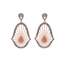 CL - Oriental_Statement_Earrings_in_Rose_Vermeil_and_White_Diamonds_by_Assya