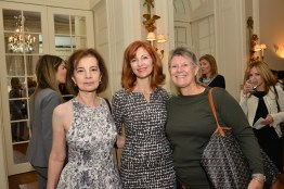 Eva Halpern, Lynne Halliday, Jaclyn Halpern== Women's Voices for Change Luncheon in honor of Christy Turlington Burns, 2015 Champion For Change== Private Manhattan Club, NYC== September 21, 2015== ©Patrick McMullan== Photo - Jared Siskin/patrickmcmullan.com==
