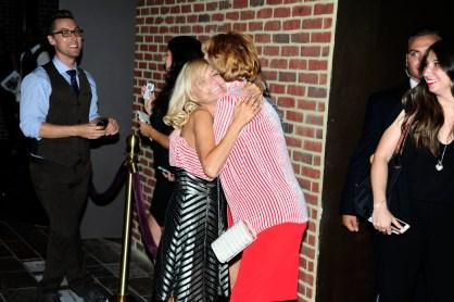 "Kristin Chenowith, Carol Burnett== Time Life and The Cinema Society host a screening of ""The Carol Burnett Show: The Lost EpisodesÓ== Tribeca Grand Hotel, NYC== September 17, 2015== ©Patrick McMullan== Photo - Paul Bruinooge/PatrickMcMullan.com== =="