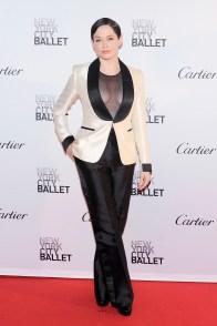 Rose McGowan== New York City Ballet 2015 Fall Fashion Gala== Lincoln Center, NYC== September 30, 2015== ©Patrick McMullan== Photo - Nicholas Hunt / PatrickMcMullan.com== ==