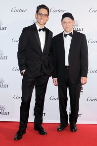 Justin Peck, Steve Reich== New York City Ballet 2015 Fall Fashion Gala== Lincoln Center, NYC== September 30, 2015== ©Patrick McMullan== Photo - Nicholas Hunt / PatrickMcMullan.com== ==