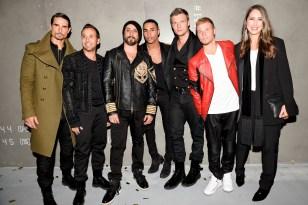 Ann-Sofie Johansson, Olivier Rousteing, Backstreet Boys