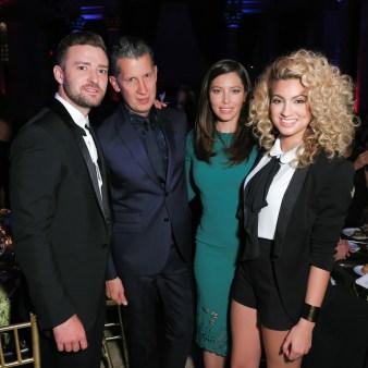 Tori Kelly, Jessica Biel, Stefano Tonchi, Justin Timberlake