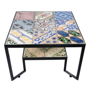 Francesco Della Femina - Colorato Spider Tiles Table - Available on www.artemest.com