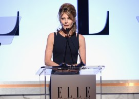 LOS ANGELES, CA - OCTOBER 19: ELLE Editor-in-Chief Robbie Myers speaks onstage during the 22nd Annual ELLE Women in Hollywood Awards presented by Calvin Klein Collection, L'Oréal Paris, and David Yurman at the Four Seasons Los Angeles at Beverly Hills on October 19, 2015 in Beverly Hills, California. (Photo by Michael Kovac/Getty Images)