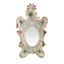 Ongaro & Fuga - Pavone Venetian Glass Mirror - Available on www.artemest.com