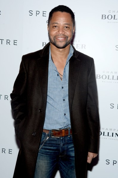"""Cuba Gooding Jr.== Champagne Bollinger with The Cinema Society host a pre-release screening of """"Spectre""""== IFC Center, NYC== November 5, 2015== ©Patrick McMullan== Photo - Clint Spaulding / PMC== =="""