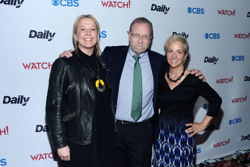 Sarah Cairns, Peter Greenberg, Danielle DeVoe