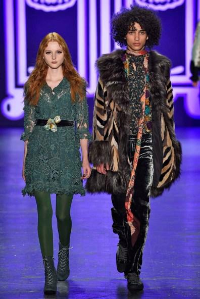 Anna Sui New York RTW Fall Winter 2016 February 2016
