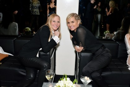 Susan Duffy and Yolanda Foster