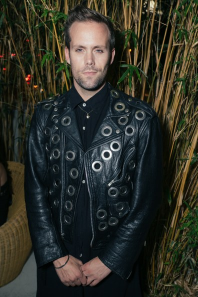 Justin Tranter attends Giorgio's Chapter 2 - The New Sound presented by Bryan Rabin and Adam Bravin at The Standard Hotel Hollywood on Saturday, April 9th, 2016 in Los Angeles, CA (Tyler Curtis/ @tyliner)