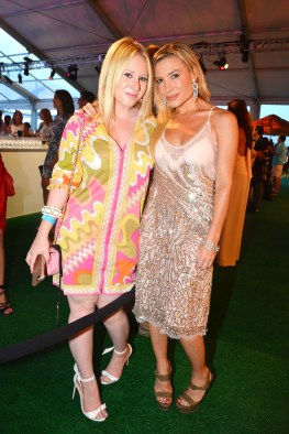 Sydney Sadick, Tracy Anderson==The 2016 Hamptons Paddle & Party for Pink Benefiting the Breast Cancer Research Foundation==Fairview on Mecox Bay, Southampton, NY==August 6, 2016==© Patrick McMullan==Photo - Patrick McMullan/PMC== == Sydney Sadick;Tracy Anderson