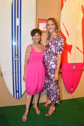 Myra Biblowit, Kinga Lampert==The 2016 Hamptons Paddle & Party for Pink Benefiting the Breast Cancer Research Foundation==Fairview on Mecox Bay, Southampton, NY==August 6, 2016==© Patrick McMullan==Photo - Patrick McMullan/PMC== == Myra Biblowit;Kinga Lampert