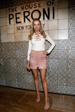 NEW YORK, NY - SEPTEMBER 07: Model Louisa Warwick attends The House of Peroni Opening Night hosted by Francesco Carrozzini on September 7, 2016 in New York City. (Photo by Sylvain Gaboury/Patrick McMullan via Getty Images)