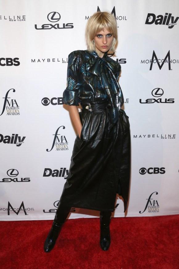 Veronika Vilim==The Daily Front Row's 4th Annual Fashion Media Awards - Arrivals==Park Hyatt New York, NYC==September 8, 2016==©Patrick McMullan==Photo - Sylvain Gaboury/PMC== == Veronika Vilim