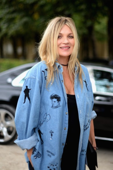 PARIS, FRANCE - SEPTEMBER 30: Kate Moss attends the Christian Dior show as part of the Paris Fashion Week Womenswear Spring/Summer 2017 on September 30, 2016 in Paris, France. (Photo by Vanni Bassetti/Getty Images for Dior)