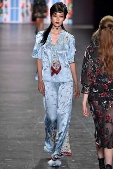 Anna Sui New York RTW Spring Summer 2017 September 2016