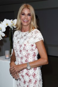Candace Bushnell== VIP Evening of Conversation for Women's Brain Health Initiative, Moderated by Tina Brown== Spring Studios, NYC== October 18, 2016== ©Patrick McMullan== Photo - Jimi Celeste/PMC== ==