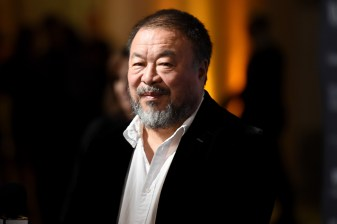 NEW YORK, NY - NOVEMBER 02: Honoree and Artist Ai Weiwei attends the WSJ Magazine 2016 Innovator Awards at Museum of Modern Art on November 2, 2016 in New York City. (Photo by Nicholas Hunt/Getty Images for WSJ. Magazine Innovators Awards)