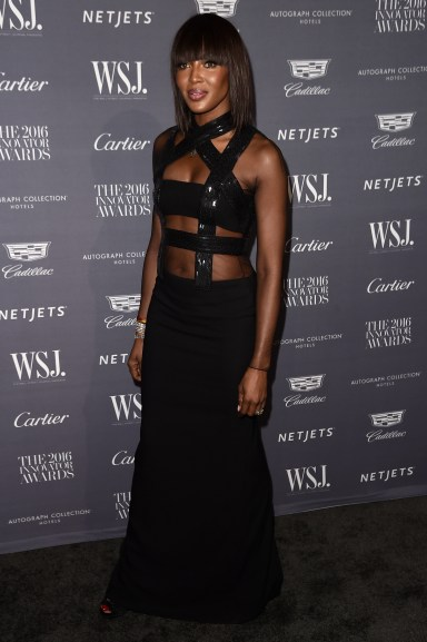 NEW YORK, NY - NOVEMBER 02: Model Naomi Campbell attends the WSJ Magazine 2016 Innovator Awards at Museum of Modern Art on November 2, 2016 in New York City. (Photo by Nicholas Hunt/Getty Images for WSJ. Magazine Innovators Awards)