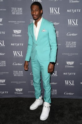 NEW YORK, NY - NOVEMBER 02: Jon Batiste attends the WSJ Magazine 2016 Innovator Awards at Museum of Modern Art on November 2, 2016 in New York City. (Photo by Nicholas Hunt/Getty Images for WSJ. Magazine Innovators Awards)