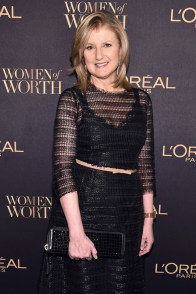 NEW YORK, NY - NOVEMBER 16: Founder of Thrive Global Arianna Huffington attends the L'Oreal Paris Women of Worth Celebration 2016 Arrivals on November 16, 2016 in New York City. (Photo by Michael Loccisano/Getty Images for L'Oreal) *** Local Caption *** Arianna Huffington