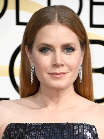 BEVERLY HILLS, CA - JANUARY 08: Actress Amy Adams attends the 74th Annual Golden Globe Awards at The Beverly Hilton Hotel on January 8, 2017 in Beverly Hills, California. (Photo by Frazer Harrison/Getty Images)