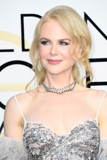 BEVERLY HILLS, CA - JANUARY 08: Actress Nicole Kidman attends the 74th Annual Golden Globe Awards at The Beverly Hilton Hotel on January 8, 2017 in Beverly Hills, California. (Photo by Frazer Harrison/Getty Images)