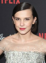 BEVERLY HILLS, CA - JANUARY 08: Millie Bobby Brown attends The Weinstein Company and Netflix Golden Globe Party, presented with FIJI Water, Grey Goose Vodka, Lindt Chocolate, and Moroccanoil at The Beverly Hilton Hotel on January 8, 2017 in Beverly Hills, California. (Photo by Tommaso Boddi/Getty Images for The Weinstein Company)