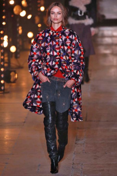 Isabel Marant Paris Womenswear Fall Winter 2017 Paris March 2017