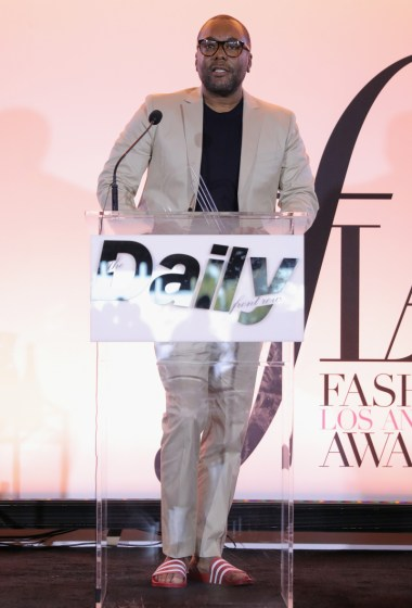 WEST HOLLYWOOD, CA - APRIL 02: Director Lee Daniels speaks onstage during the Daily Front Row's 3rd Annual Fashion Los Angeles Awards at Sunset Tower Hotel on April 2, 2017 in West Hollywood, California. (Photo by Neilson Barnard/Getty Images)