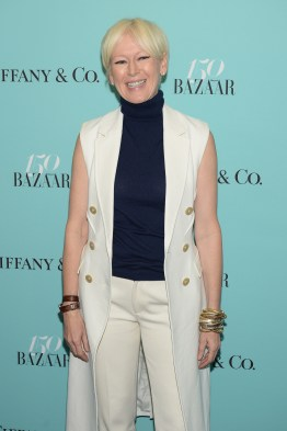 NEW YORK, NY - APRIL 19: Joanna Coles attends Harper's BAZAAR 150th Anniversary Event presented with Tiffany & Co at The Rainbow Room on April 19, 2017 in New York City. (Photo by Andrew Toth/Getty Images for Harper's BAZAAR)
