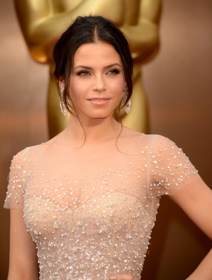 HOLLYWOOD, CA - MARCH 02: Actress Jenna Dewan attends the Oscars held at Hollywood & Highland Center on March 2, 2014 in Hollywood, California. (Photo by Jason Merritt/Getty Images)