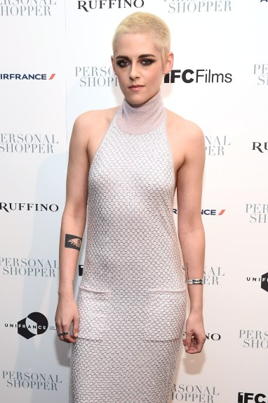 "NEW YORK, NY - MARCH 09: Actress Kristen Stewart attends the ""Personal Shopper"" premiere at Metrograph on March 9, 2017 in New York City. (Photo by Dimitrios Kambouris/Getty Images)"