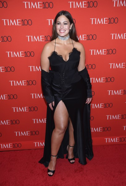 NEW YORK, NY - APRIL 25: Model Ashley Graham attends the 2017 Time 100 Gala at Jazz at Lincoln Center on April 25, 2017 in New York City. (Photo by Dimitrios Kambouris/Getty Images for TIME)